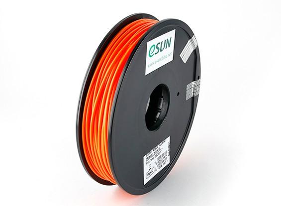 ESUN 3D Printer Filament Orange 3mm ABS 0.5KG Spool