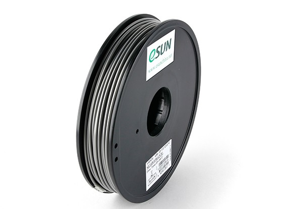 ESUN 3D Printer Filament Silver 3mm ABS 0.5KG Spool