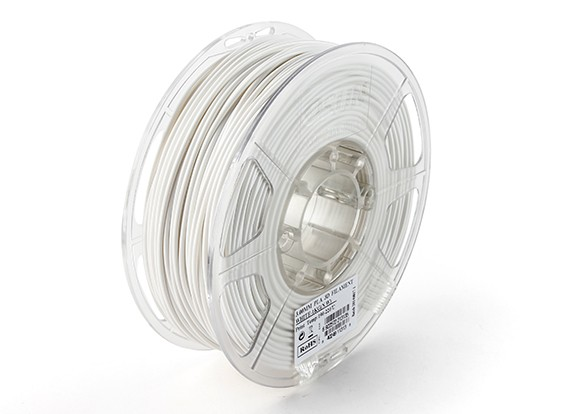 ESUN 3D Printer Filament White 3mm PLA 1KG Roll