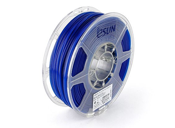 ESUN 3D Printer Filament Blue 3mm PLA 1KG Roll