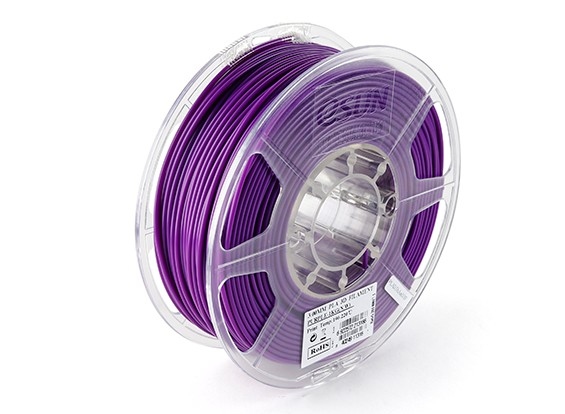 ESUN 3D Printer Filament Purple 3mm PLA 1KG Roll