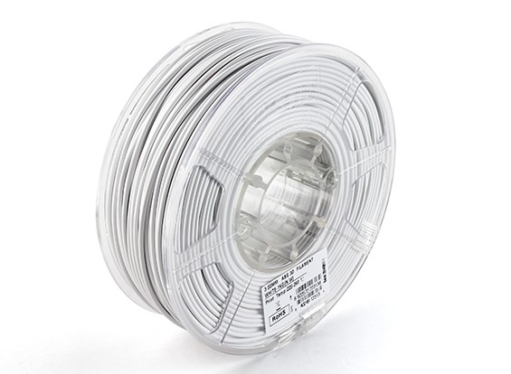 ESUN 3D Printer Filament White 3mm ABS 1KG Roll