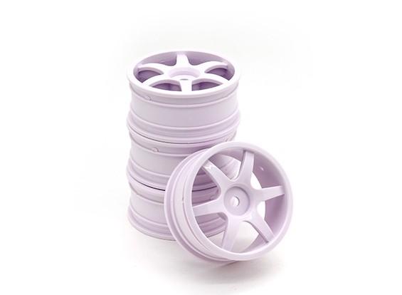 RiDE 1/10 Touring 24mm 6 Spoke Wheel 0mm Offset (4pcs)