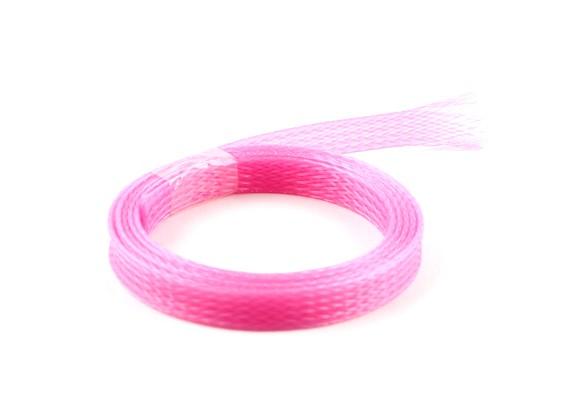 Wire Mesh Guard Pink 8mm (1m)
