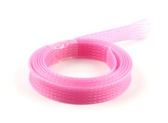 Wire Mesh Guard Pink 10mm (1m)