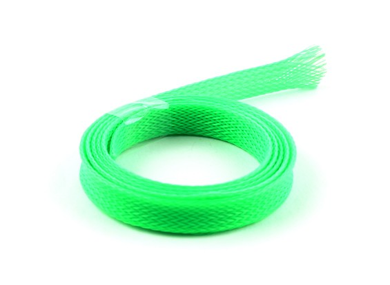 Wire Mesh Guard Neon Green 10mm (1m)
