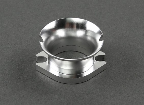 Universal Velocity Stack for 100cc~120cc Size Gas Engines (Silver)