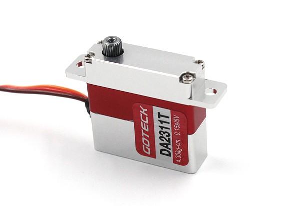 Goteck DA2311T Digital MG Metal Cased Park Servo 5.2kg / 0.12sec / 23g