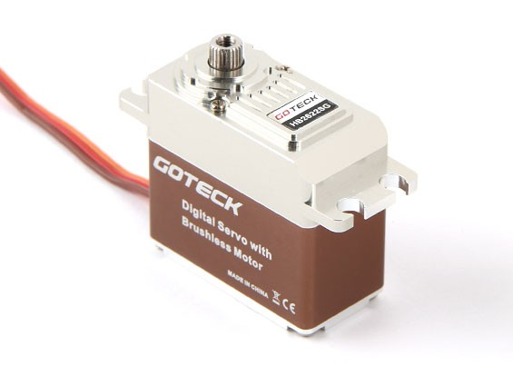 Goteck HB2622S HV Digital Brushless MG Metal Cased High Torque Servo 22kg/ 0.11sec / 77g