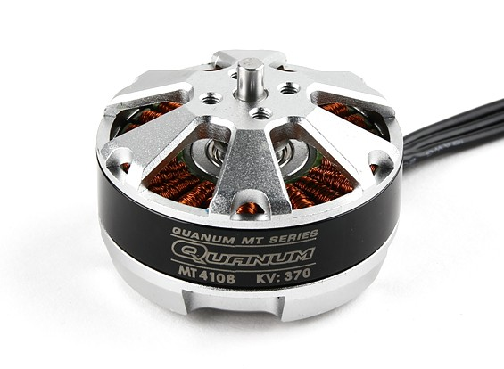 Quanum MT Series 4108 370KV Brushless Multirotor Motor Built by DYS