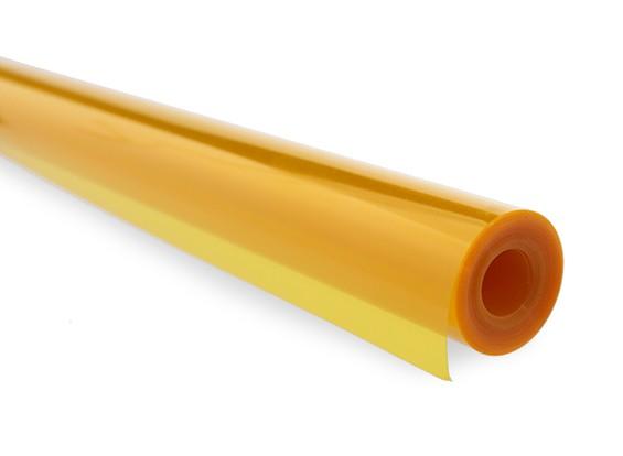 Covering Film Transparent Burnt Orange (5mtr) 202