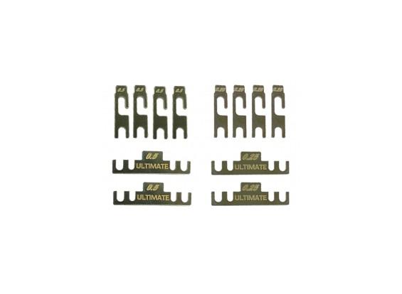 Suspension Mount Rolling Center Shim Set - 3Racing SAKURA FF 2014