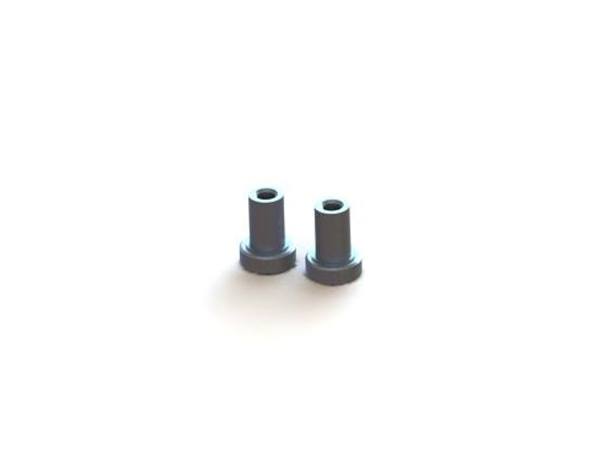 Steering Post (2pcs) - 3Racing SAKURA FF 2014