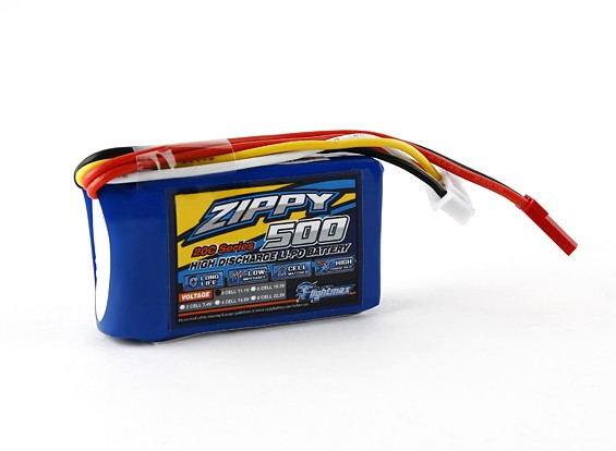 ZIPPY Flightmax 500mAh 3S1P 20C