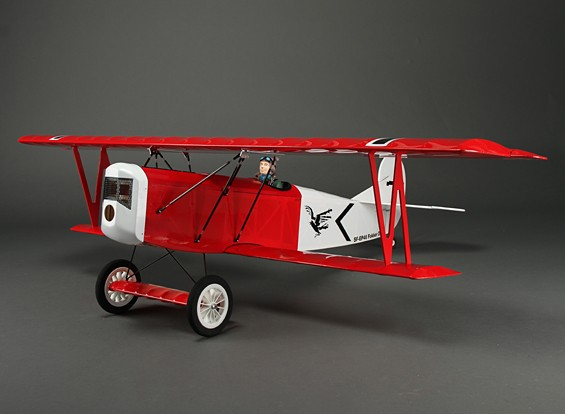 Fokker D.VII World War I Biplane Balsa 1200mm (ARF)