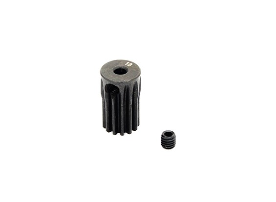 Hobbyking™ 0.5M Hardened Steel Helicopter Pinion Gear 2.3mm Shaft - 13T