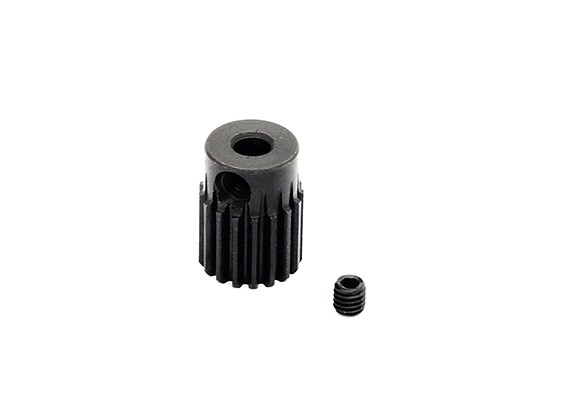 Hobbyking™ 0.5M Hardened Steel Helicopter Pinion Gear 3.17mm Shaft - 17T