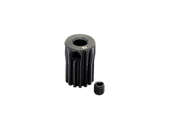 Hobbyking™ 0.5M Hardened Steel Helicopter Pinion Gear 3.5mm Shaft - 14T