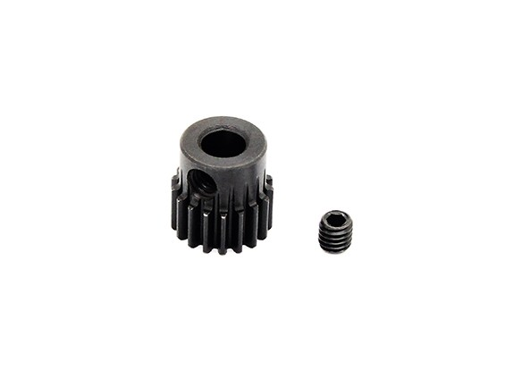 HobbyKing™ 0.6M Hardened Steel Helicopter Pinion Gear 5mm Shaft - 18T