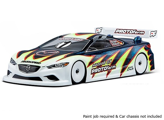 PROTOform Mazda6 GX Light Weight Clear Body for 190mm TC