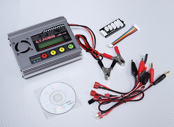 GT A-6-10 200W Balance charger & discharger