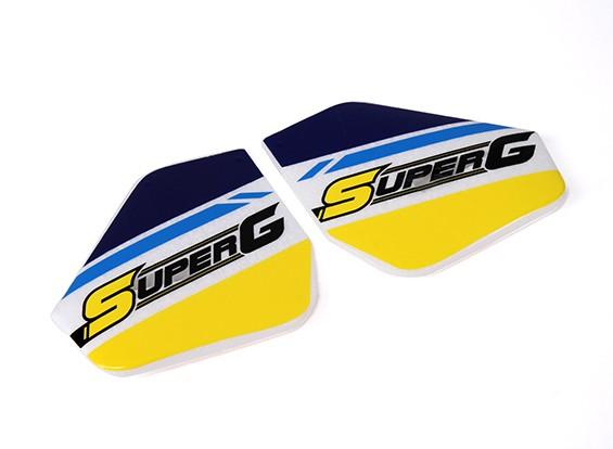 Hobbyking™ Super-G Autogyro - Sub Fin Set
