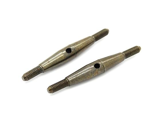 TrackStar 1/10 Spring Steel Turnbuckle M3x40 (2pcs)