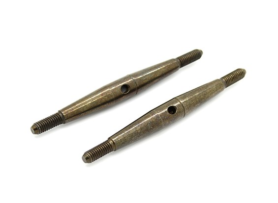 TrackStar 1/10 Spring Steel Turnbuckle M3x50 (2pcs)