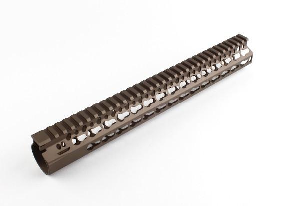 "Dytac Bravo Rail 13 inch for Systema PTW profile (1 1/4"" /18, Dark Earth)"