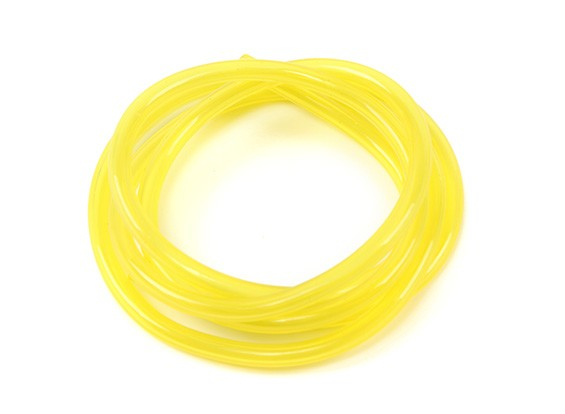 Yellow Silicone Fuel Pipe 2.5mm x 1mtr (Suitable for Nitro & Gas Engines)