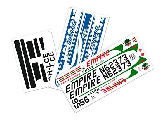 HobbyKing™ DC-3 1600mm - Decal Set
