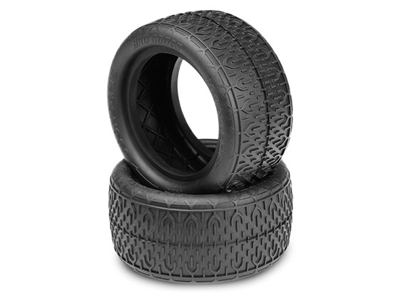 JCONCEPTS Bro Codes 1/10th Buggy Rear Tires - Green (Super Soft) Compound