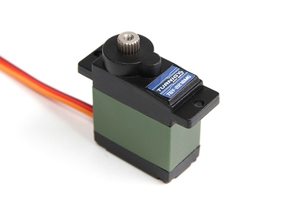 Turnigy™ TGY-2216MG Coreless DS/MG Servo 21T 3.9kg / 0.13sec / 15.8g