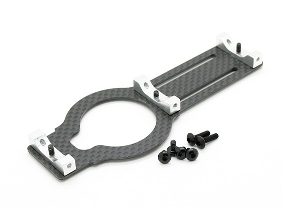 Assault 450DFC TT & Belt Flybarless 3D Helicopter Carbon Base Plate