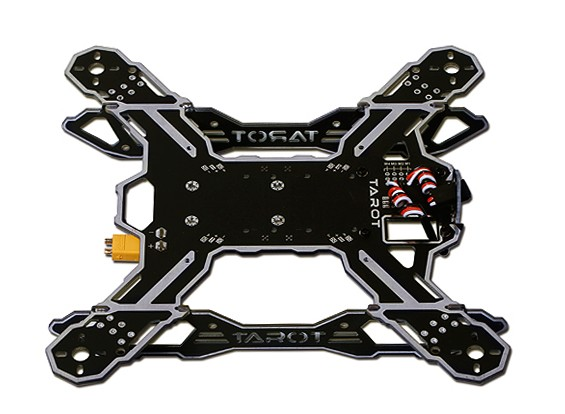 Tarot 200 Class FPV Mini Through the Machine Quadcopter Frame Kit