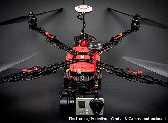 ImmersionRC XuGong V2 Pro Quadcopter Kit  With Integrated Printed Distribution Board