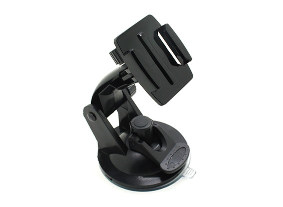 Windshield  Suction Cup Car Mount for Action Cam/Gopro Cameras