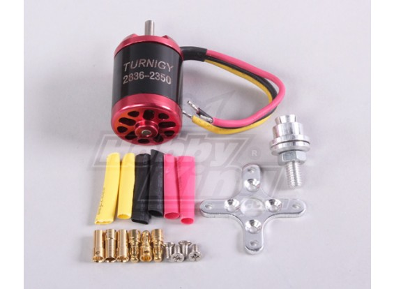 Turnigy2836 brushless Outrunner 2350kv