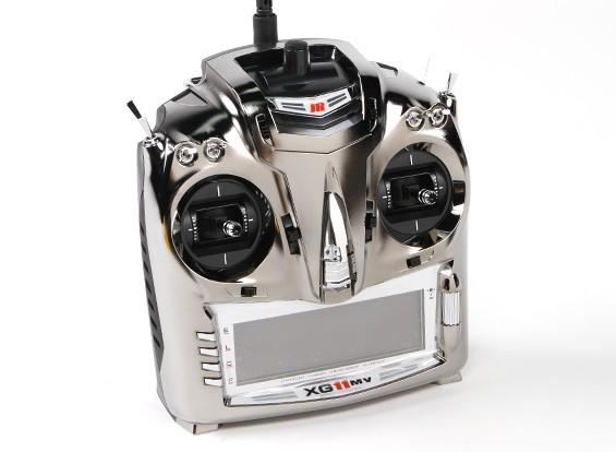 JR XG11MV 11ch Modular Transmitter Mode 2 with TG2.4XP DMSS Module &   RG731BX Receiver
