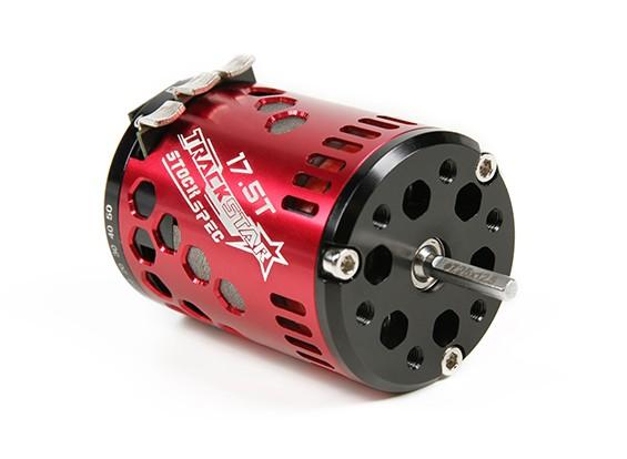 TrackStar 17.5T Stock Spec Sensored Brushless Motor V2 (ROAR approved)