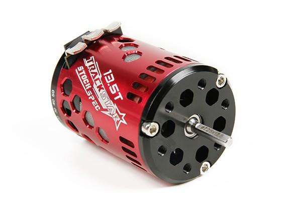 TrackStar 13.5T Stock Spec Sensored Brushless Motor V2 (ROAR approved)
