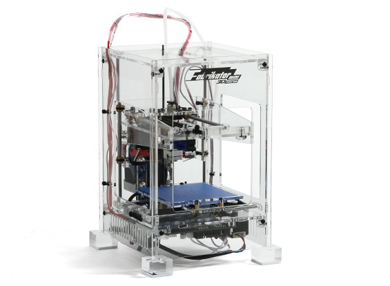 Fabrikator Mini 3D Printer - V1.5 - Transparent - EU 230V