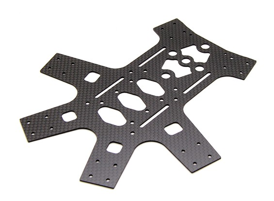 Spedix S250AH Series Frame - Replacement Bottom Frame Plate (1pc)