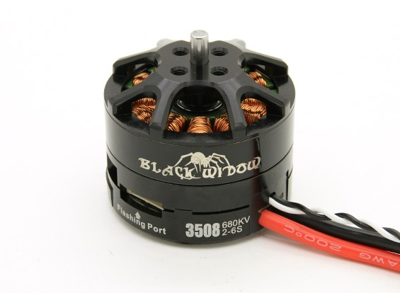 Black Widow 3508-680Kv With Built-In ESC CW/CCW