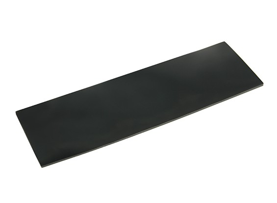 Battery Silicon Anti-Slip Mat 126x40x1.5mm (Black)