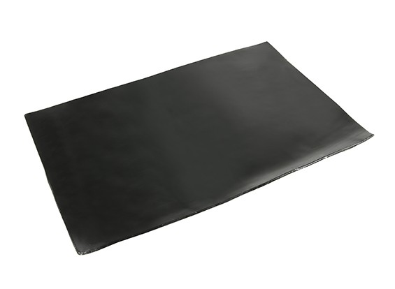 Vibration Absorption Sheet 210x145x1.5mm (Black) with 3M Double Sided Tape