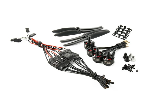 LDPOWER 250 Race Spec 1806-2280kv  D200 (5x3) (4 Pack)