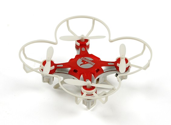 FQ777-124 Pocket Drone 4CH 6Axis Gyro Quadcopter With Switchable Controller (RTF) (Red)