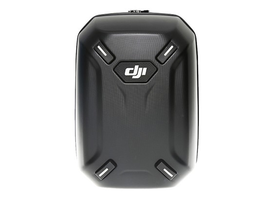 DJI Phantom 3 hardshell backpack with Phantom 3 logo