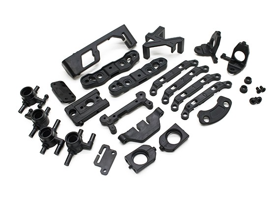 Reinforced Plastic Parts Set - Turnigy TZ4 AWD - Turnigy TZ4 AWD